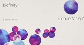 Cooper Vision Biofinity, +5.50 Dioptrien, 6er-Pack