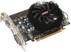 MSI R6770-MD1GD5, Radeon HD 6770, 1GB GDDR5, VGA, DVI, HDMI (V214-043R)