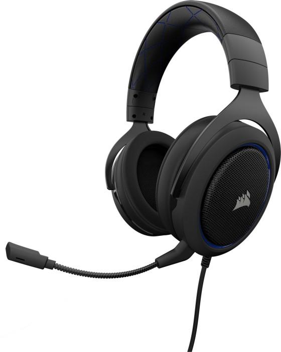 Corsair Gaming HS-50 schwarz/blau (CA-9011172-EU)