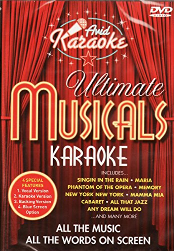 Karaoke: Musicals (verschiedene) -- via Amazon Partnerprogramm