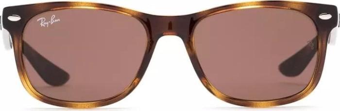Ray-Ban Unisex Sonnenbrille Junior, Gr. Medium (Herstellergröße: 50), Braun (Gestell: Havana, Gläser: Braun Klassisch 152/73)