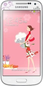 Samsung Galaxy S4 Mini Value Edition i9195i La Fleur weiß