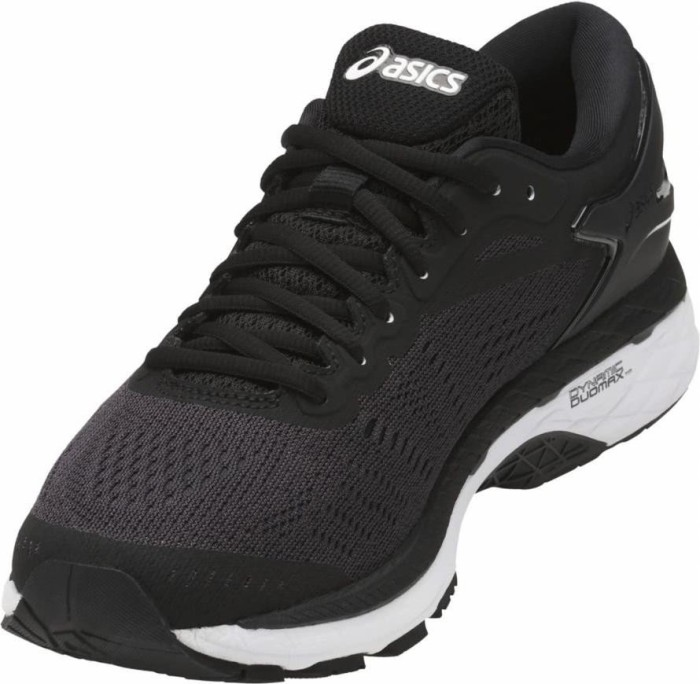 Asics Gel-Kayano 24 black/phantom/white (Damen) (T799N-9016)