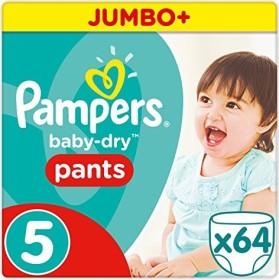 Pampers Baby-Dry pants Gr.5 Einwegwindel, 12-17kg, 64 Stück