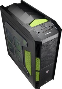 AeroCool XPredator Evil Green Edition with side panel window (EN58124)