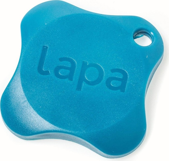 P.L.A. Lapa 2 Bluetooth Tracker blau -- © c't