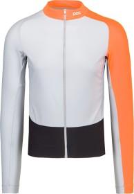 POC Essential Road Mid LS Trikot langarm granite grey/zink orange (Herren) (58210-8287)