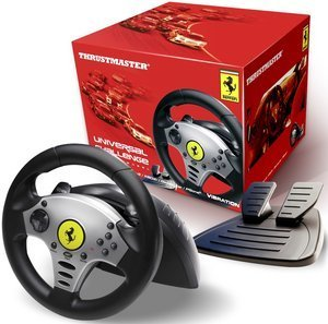 Thrustmaster Ferrari Universal Challenge 5in1 Racing Wheel (PC/PS3/PS2/Wii/GC) (4060048/2960700)