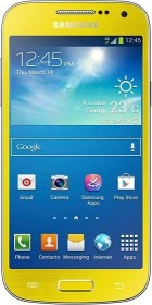 Samsung Galaxy S4 Mini Value Edition i9195i gelb