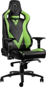noblechairs Epic GeForce GTX Edition Gamingstuhl, schwarz/grün (NBL-PU-GTX-001)