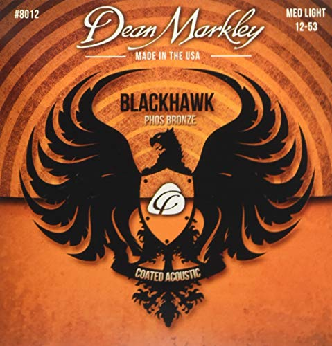 Dean Markley Blackhawk Acoustic Phos Bronze Medium Light (8012)