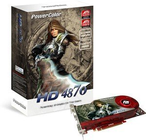 PowerColor Radeon HD 4870, 512MB GDDR5, 2x DVI, TV-out (A77F-TE3)