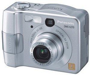 Panasonic Lumix DMC-LC70 srebrny (różne zestawy)