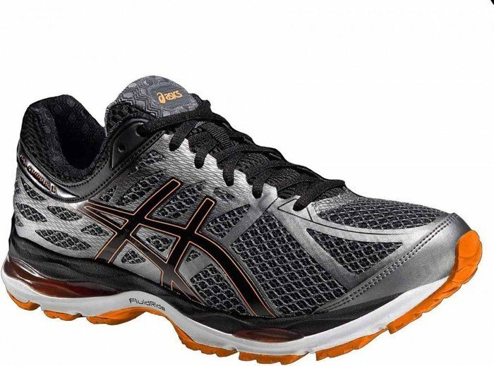 Asics Gel-Cumulus 17 smoked pearl/black/flash orange (Herren) (T5D3N-9290) ab € 69,90