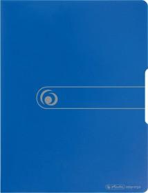 Herlitz easy orga to go Sichtbuch A4 mit 20 Klarsichthüllen, blau (11207347)