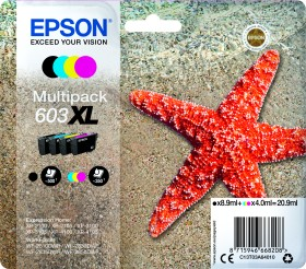 Epson ink 603XL multipack (C13T03A64010)