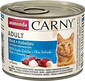animonda Carny Rind und Kabeljau 1.2kg (6x200g)
