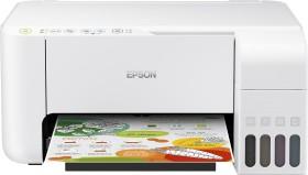 Epson EcoTank L3156 weiß, Tinte (C11CG86413)