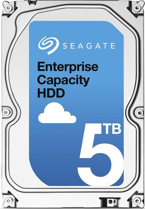 Seagate Enterprise Capacity 3.5 HDD 5TB, 128MB, 512e [5 Platter], SATA 6Gb/s (ST5000NM0024)