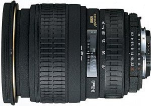 Sigma AF 24-70mm 3.5-5.6 Asp HF for Canon EF black (605927)