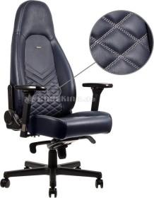 noblechairs Icon Gamingstuhl, mitternachtsblau/graphit (NBL-ICN-RL-MBG)