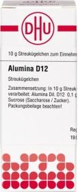 DHU Alumina Globuli D12, 10g