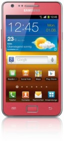 Samsung Galaxy S2 i9100 16GB pink