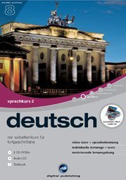 Digital Publishing: Interaktive Sprachreise V8: Deutsch Teil 2 (PC)