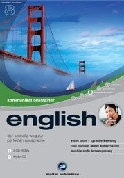 digital Publishing: interactive language tour V8: communications trainer English (PC)