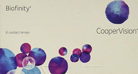 Cooper Vision Biofinity, +3.75 Dioptrien, 6er-Pack