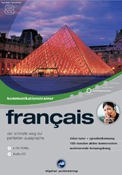 digital Publishing: interactive language tour V8: communications trainer français (PC)