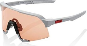 100% S3 soft tact stone grey/hiper coral lens-clear lens (61034-289-79)