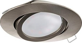 Eglo Tedo circular 8cm built-in light nickel-matte (31688)