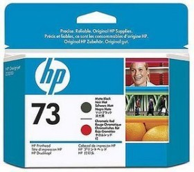 HP Printhead 73 black matte/chromatic red (CD949A)