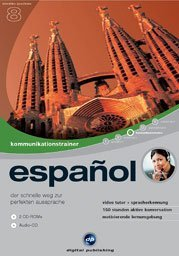 digital Publishing: interactive language tour V8: communications trainer Spanish (PC)