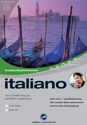 digital Publishing interactive language tour V8: communications trainer Italian (PC)