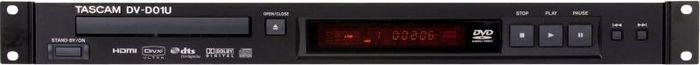 Tascam DV-D01U schwarz, professioneller DVD-Player