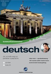digital Publishing: interactive language tour V8: communications trainer German (PC)
