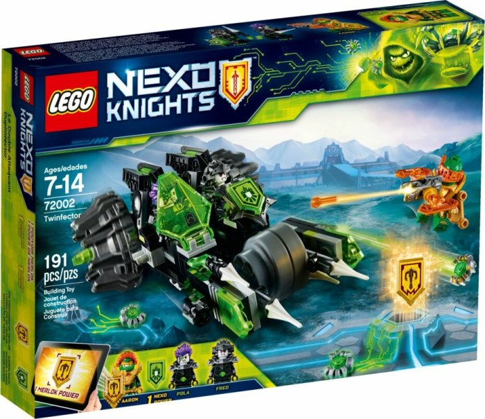 LEGO Nexo Knights - Doppelinfektor (72002)