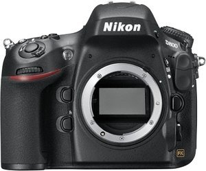 Nikon D800 (SLR) with third-party manufacturer lens