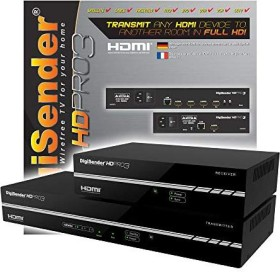 DigiSender HD Pro HDMI extender Powerline, up to 300m