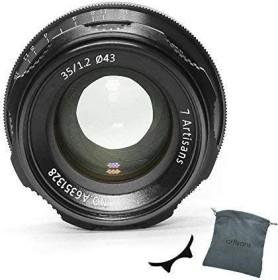 7artisans 35mm 1.2 für Nikon Z schwarz