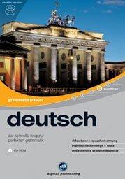 cyfrowy Publishing: interaktywna podróż językowa V8: trener gramatyki niemiecki (PC)