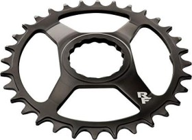 RaceFace Cinch Direct Mount Steel Narrow Wide 30 Zähne Kettenblatt schwarz