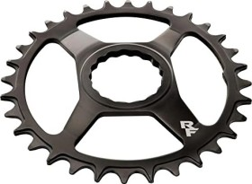 RaceFace Cinch Direct Mount Steel Narrow Wide 28 Zähne Kettenblatt schwarz