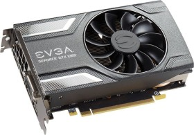 EVGA GeForce GTX 1060 SC Gaming, 3GB GDDR5, DVI, HDMI, 3x DP (03G-P4-6162-KR)