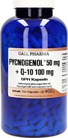 Pycnogenol 50mg + Q-10 100mg GPH Kapseln, 750 Stück