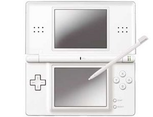 Nintendo DS Lite Basic unit, white