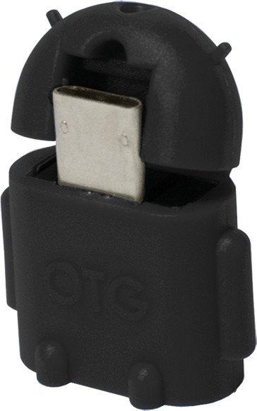 LogiLink USB-OTG-Adapter Kabel schwarz, Micro-B/USB-A (AA0062)