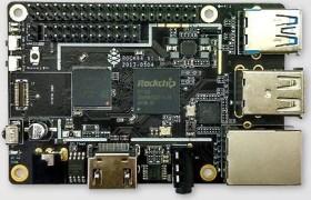 Pine ROCK64, 4GB RAM (R64-BOARD-4GB)